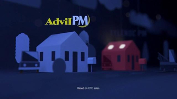 Advil PM TV Spot, 'Fact: Lying Awake'