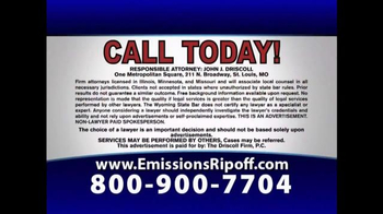 The Driscoll Firm TV Spot, 'Volkswagen Emission Fraud' - Thumbnail 5