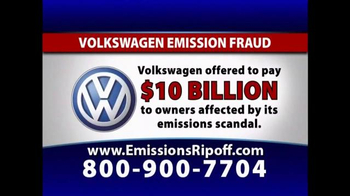 The Driscoll Firm TV Spot, 'Volkswagen Emission Fraud'