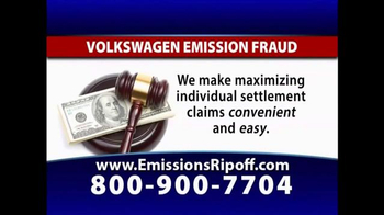 The Driscoll Firm TV Spot, 'Volkswagen Emission Fraud' - Thumbnail 3
