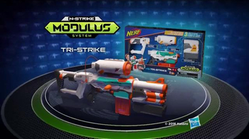 Nerf Modulus Tri-Strike TV Spot, 'The Power of Three' - Thumbnail 6