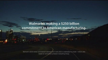 Walmart TV Spot, 'Made in America: More American Jobs' Song by Aerosmith - Thumbnail 6