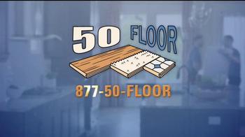 50 Floor Free Installation Sale TV Spot, 'Improvements' Ft. Richard Karn - Thumbnail 10