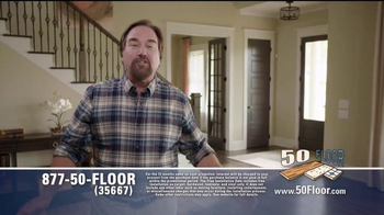 50 Floor Free Installation Sale TV Spot, 'Improvements' Ft. Richard Karn - Thumbnail 3