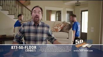 50 Floor Free Installation Sale TV Spot, 'Improvements' Ft. Richard Karn - Thumbnail 4