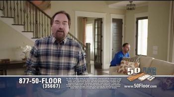 50 Floor Free Installation Sale TV Spot, 'Improvements' Ft. Richard Karn - Thumbnail 5