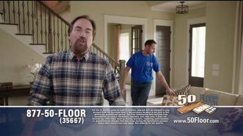 50 Floor Free Installation Sale TV Spot, 'Improvements' Ft. Richard Karn - Thumbnail 6