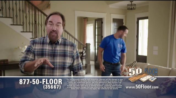 50 Floor Free Installation Sale TV Spot, 'Improvements' Ft. Richard Karn - Thumbnail 7