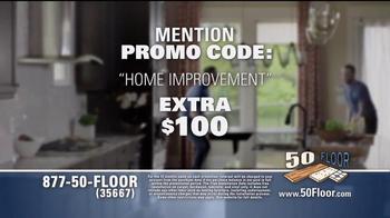 50 Floor Free Installation Sale TV Spot, 'Improvements' Ft. Richard Karn - Thumbnail 9