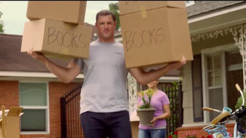 Reliant Energy First Month Free Plan TV Spot, \'Moving\' Feat. Jason Witten
