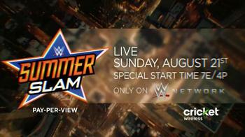 WWE Network TV Spot, '2016 SummerSlam: Universal Champion' - Thumbnail 8