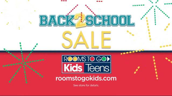 Rooms to Go Back 2 School Sale TV Spot, 'The Joy is Real' - Thumbnail 10