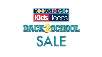 Rooms to Go Back 2 School Sale TV Spot, 'The Joy is Real' - Thumbnail 7