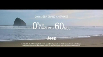 2016 Jeep Grand Cherokee TV Spot, 'The Journey' Song by Morgan Dorr - Thumbnail 8