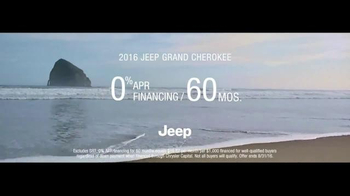 2016 Jeep Grand Cherokee TV Spot, 'The Journey' Song by Morgan Dorr - Thumbnail 9