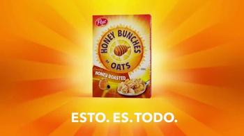 Honey Bunches of Oats Honey Roasted TV Spot, 'ESTO. ES. TODO.' [Spanish] - Thumbnail 1
