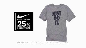 Kohl's Nike Sale TV Spot, 'Sin límite' [Spanish] - Thumbnail 2