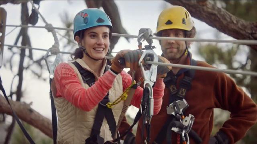 Navy Federal Credit Union App Tv Commercial Zip Line Ispottv