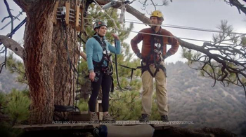 Navy Federal Credit Union App TV Spot, 'Zip Line' - Thumbnail 5
