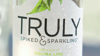 Truly Spiked & Sparkling TV Spot, 'A Refreshing Twist' - Thumbnail 1
