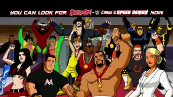 Scooby-Doo! and WWE: Curse of the Speed Demon Home Entertainment TV Spot - Thumbnail 4