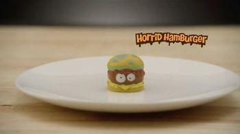 The Grossery Gang Horrid Hamburger TV Spot, 'Maggoty Meat'