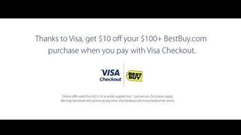 VISA Checkout TV Spot, 'Best Buy: Team USA vs. Canada' Feat. Ashton Eaton - Thumbnail 10
