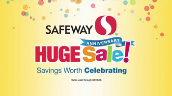 Safeway Huge Anniversary Sale TV Spot, 'Pepsi, Fritos and Cheetos' - Thumbnail 5