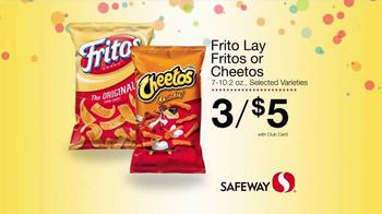 Safeway Huge Anniversary Sale TV Spot, 'Pepsi, Fritos and Cheetos' - Thumbnail 2