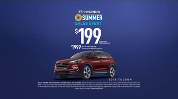 Hyundai Summer Sales Event TV Spot, 'Move Fast' [T2] - Thumbnail 8