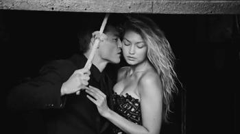 Versace Dylan Blue TV Spot, 'Pour Homme' Featuring Gigi Hadid, Alan Jouban - Thumbnail 6