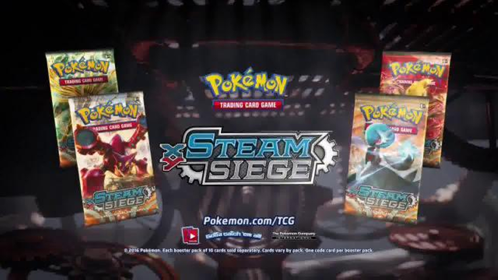Pokemon TCG: XY - Steam Siege TV Commercial, 'The Pressure Is Rising'