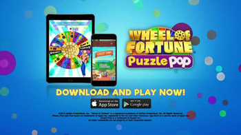 Wheel of Fortune PUZZLE POP TV Spot, 'Whole New Spin' Featuring Vanna White - Thumbnail 8