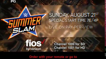 Fios by Verizon TV Spot, 'WWE: Summerslam' - Thumbnail 8