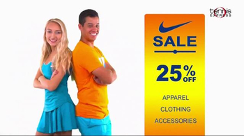 Tennis Express Nike Sale TV Spot, \'Apparel and Shoes\'