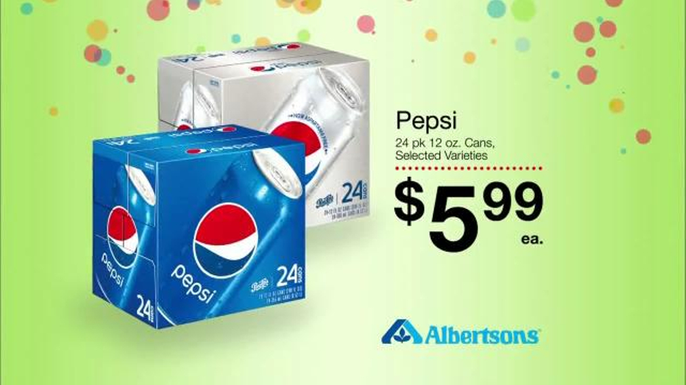 Albertsons Huge Anniversary Sale TV Commercial, 'Pepsi and Frito Lay'