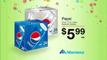 Albertsons Huge Anniversary Sale TV Spot, 'Pepsi and Frito Lay'