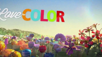 Sherwin-Williams Love for Color Sale TV Spot, 'Fields of Flowers' - Thumbnail 3