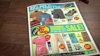 Bass Pro Shops Summer Madness Sale TV Spot, 'Cargo Capris and Towables' - Thumbnail 2