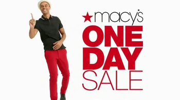 Macy's One Day Sale TV Spot, 'August 2016: Savings Pass' - Thumbnail 2