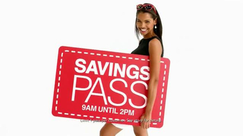 Macy's One Day Sale TV Spot, 'August 2016: Savings Pass' - Thumbnail 6
