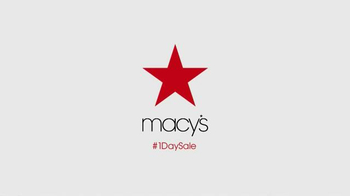 Macy's One Day Sale TV Spot, 'August 2016: Savings Pass' - Thumbnail 7
