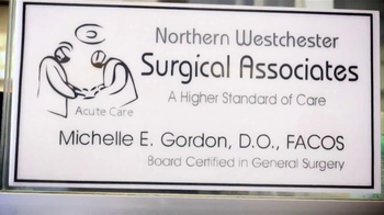 Dr. Michelle Gordon TV Spot, 'Northern Westchester Surgical Associates' - Thumbnail 4