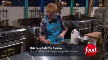 No Kid Hungry TV Spot, 'Food Network: Junior Chefs' - Thumbnail 3