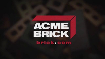 Acme Brick TV Spot, 'Paid in Brick' Featuring Troy Aikman - Thumbnail 9
