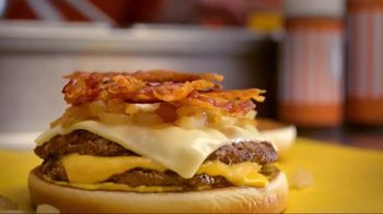 Whataburger Sweet & Spicy Bacon Burger TV Spot, 'The Heat'
