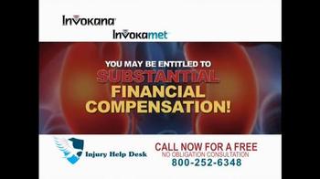 Injury Help Desk TV Spot, 'Invokana' - Thumbnail 4