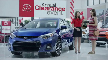 Toyota Annual Clearance Event TV Spot, '2016 Corolla: Dancing' - Thumbnail 1
