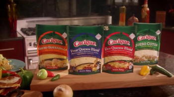 Cacique Shredded Cheeses TV Spot, 'All in the Queso' Feat. Aaron Sanchez