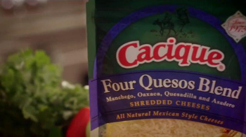 Cacique Shredded Cheeses TV Spot, 'All in the Queso' Feat. Aaron Sanchez - Thumbnail 5